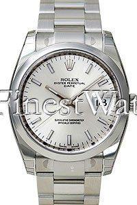 Rolex Date Blue Dial
