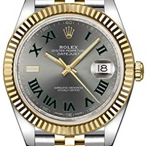 Rolex Datejust 41 Slate Dial