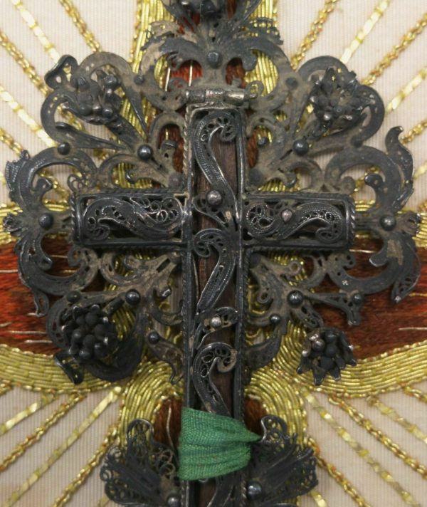 Antique Very Rare Authentic The Actual True Cross of Our Lord Jesus Christ Relic