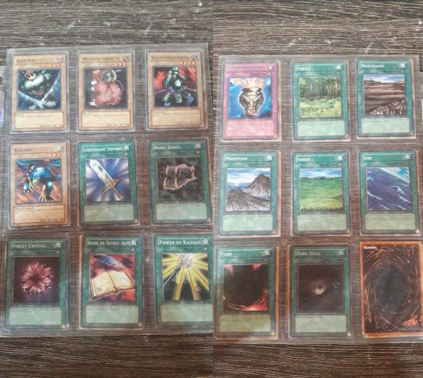Yu-Gi-Oh LOB complet collection card of 116 rare and extremely rare 1st édition!
