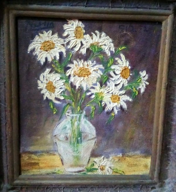 Pablo Picasso (Attr) Oil On Canvas Painting Signed Dated Rare Private Collection