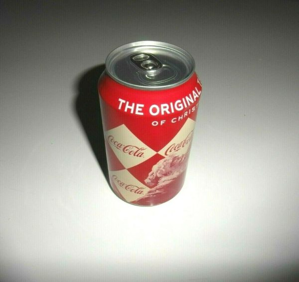 Coca Cola 12 Oz rare factory error (Christmas edition) - Sealed and empty - Coll