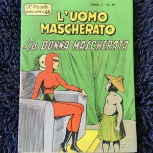 L'uomo Mascherato - La Donna Mascherata '' The Masked Woman '' RARE 1958 comic