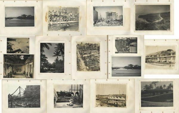 HIROSHIMA ATOMIC BOMBING NEGATIVE, CAMERA & 1st PRINT PHOTO COLLECTION WWII RARE