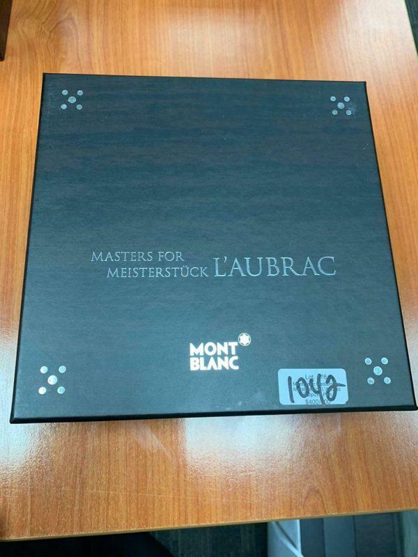 Super Rare Item Montblanc Fountain pen L'aubrac Full Set In Original Box