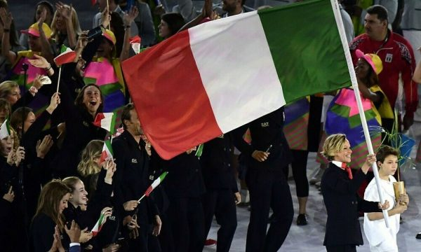ITALY FLAG RIO 2016 OLYMPIC GAMES - NOT a RARE - IT's a UNIQUE COLLECTIBLE ITEM