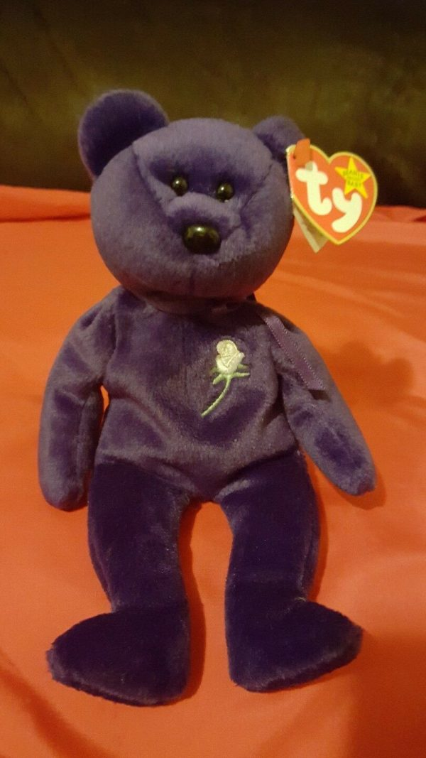 """RARE 1st Edition """"Princess Diana"""" Beanie Baby (Collectable Item)"""