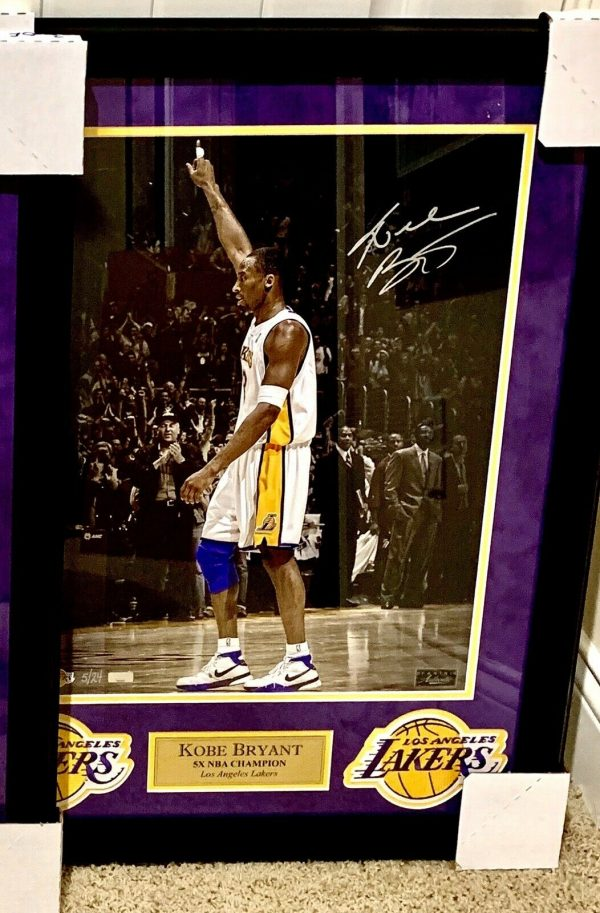 RARE Kobe Bryant Signed Autograph Collection LOT Panini UD UDA Lakers 11 Items