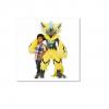 Pokemon Center life-size Zeraora Plush Huge official item Japanese rare [2-261
