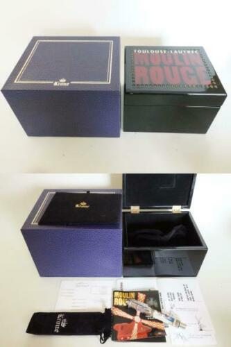 Krone Moulin Rouge Fountain Pen M188 Limited Edition Super Rare Item