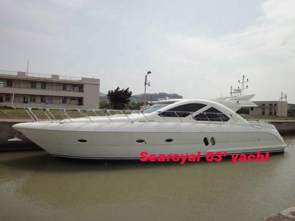 hi speed searoyal 63' yacht