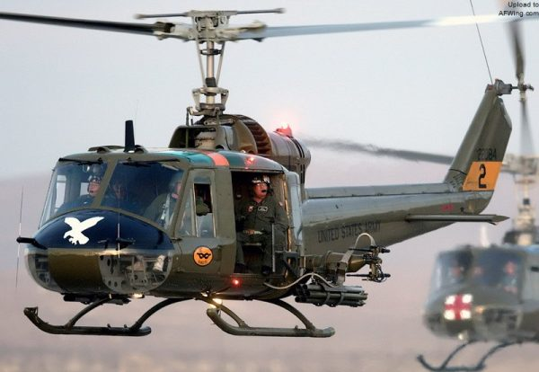 UH-1 Upgraded Iroquois Military Logistics Helicopter