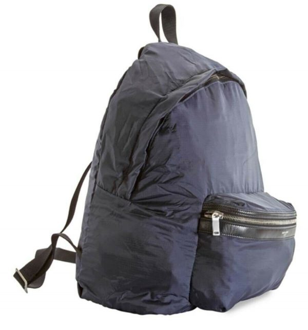 Ysl Saint LAURENT PARIS Packable Backpack 2 IN 1 Bum Bag Luxury Pure New